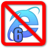 IE6 not supported